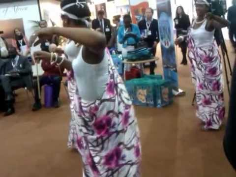 Rwanda Dancers at East Africa Community World Travel Mart London