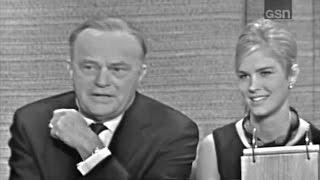 What's My Line? - Edgar & Candice Bergen; Steve Lawrence [panel] (Sep 12, 1965)