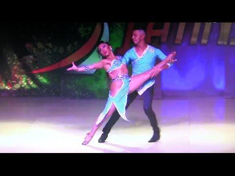 WLDCup 2015 ~ Final Bachata ~ Eva Aravena & Gabriel Jaña