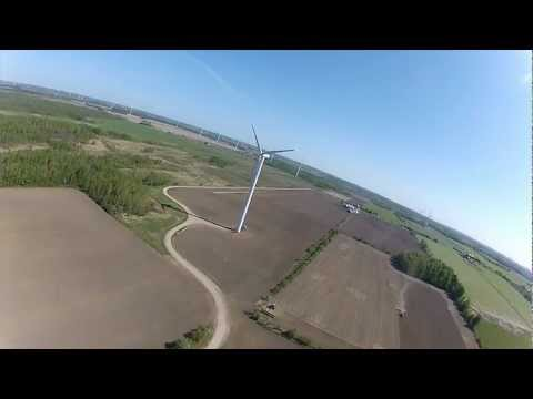 TBRC FPV Near Wind Turbines May 2012