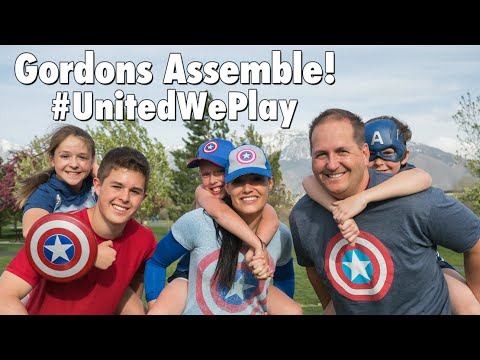 Superhero Football! | United We Play | Sam Gordon