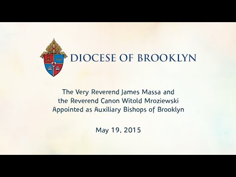 Diocese of Brooklyn - New Bishops - May 19, 2015