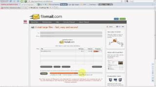 How To Send Large Files Throughs Email Free