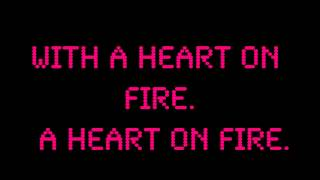 Jonathan Clay - Heart On Fire Lyrics (Full Song!) LOL