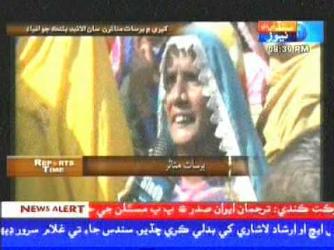 Khipro Sindh Tv News Story Allied Bank Manger Pakistan Card Mutasren Khe Lotn Me Poro. video