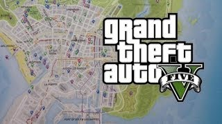 GTA 5 - Official Map Leaked