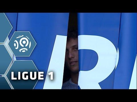 David Luiz's presentation - 1st game at the Parc des Princes / PSG-Bastia (2-0) / 2014-15