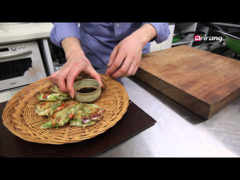 My Little Kitchen Ep05 Haemul Jeon (Seafood Pancake) [seri] Bossam (Boiled Pork)