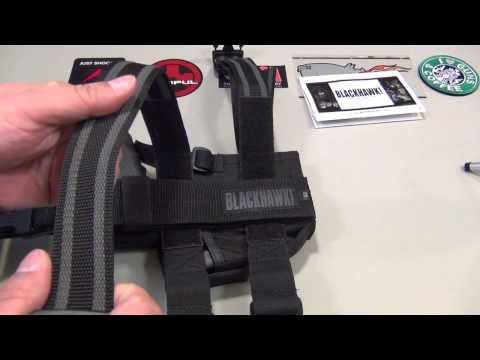 Blackhawk Omega  Elite thigh rig holster
