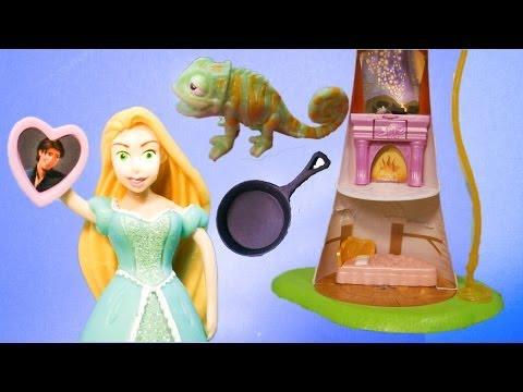 RAPUNZEL Disney Princess Rapunzel Fashion Set a Disney Tangled Video Toy Review