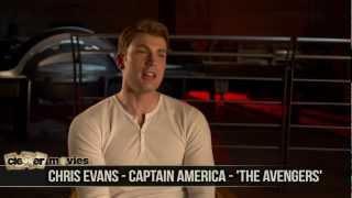 """Chris Evans Talks """"Captain America"""" In 'The Avengers'"""