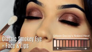 Makeup Tutorial | Smokey Eye Makeup Look + Face & Lips | TheMakeupChair