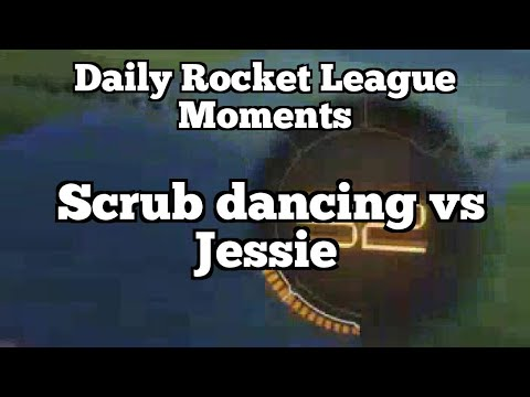 Daily Rocket League Moments: Scrub dancing vs Jessie
