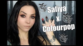 Safiya Nygaard x Colourpop Lip Swatches | Full Collection!