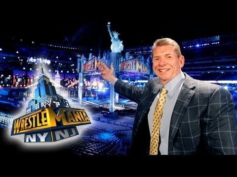 Mr. McMahon reveals sneak peek at WrestleMania 29 set