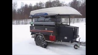 Off road trailer for fisherman Z Lander Z2