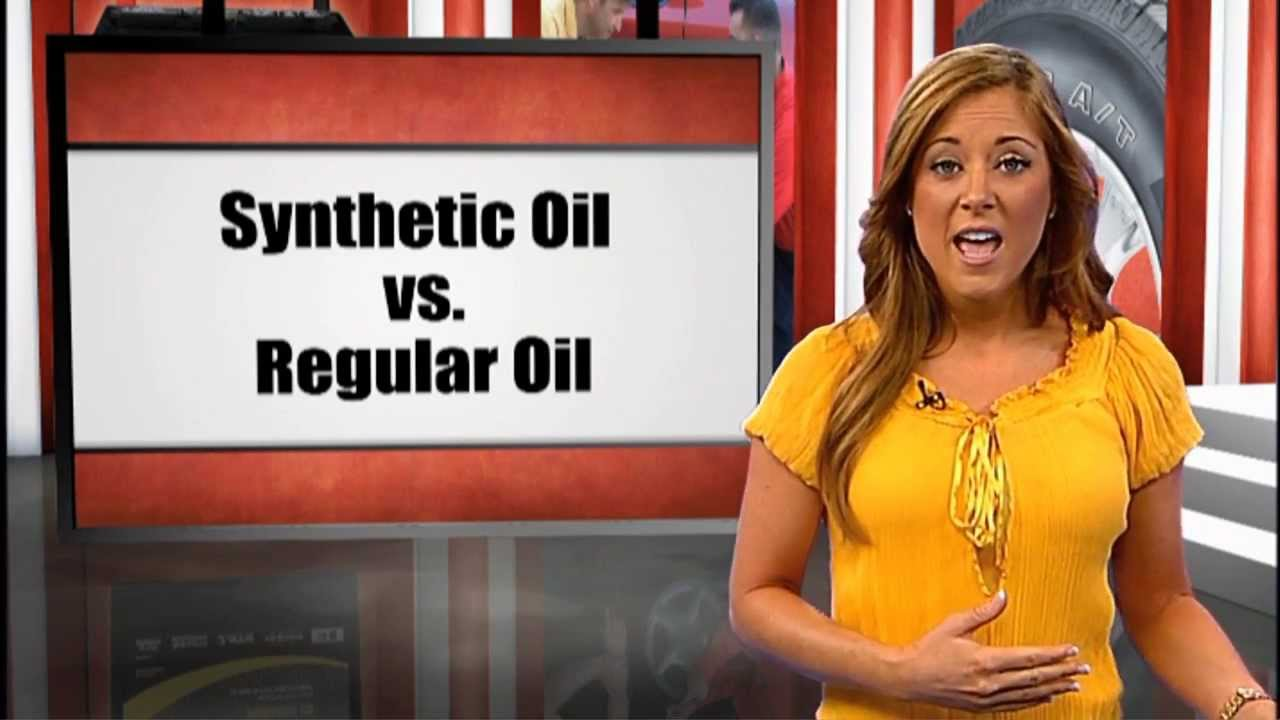 Synthetic Vs Regular Oil >> Car Maintenance Questions: Synthetic Oil vs. Regular Oil - YouTube