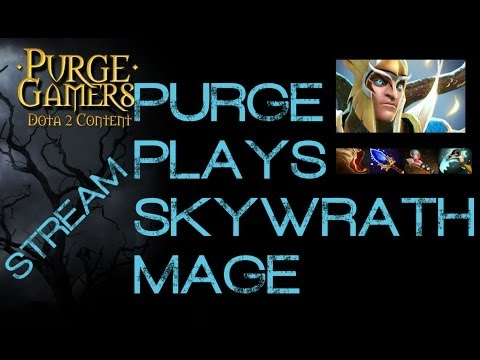 Dota 2 Purge plays Skywrath