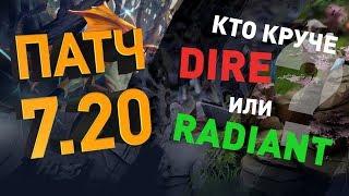 Патч 7.20: Ландшафт. Кто круче: Radiant или Dire?