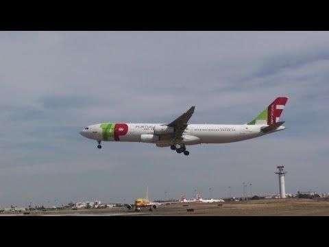 Tap Portugal Airbus A340-300 - A320 Maputo MPM Moçambique para Aeroporto da Madeira FNC.
