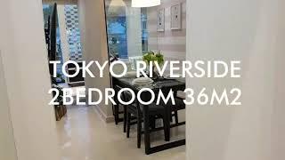 TOKYO RIVERSIDE - 2 BEDROOM ( 36M2 )   APARTEMEN PIK 2