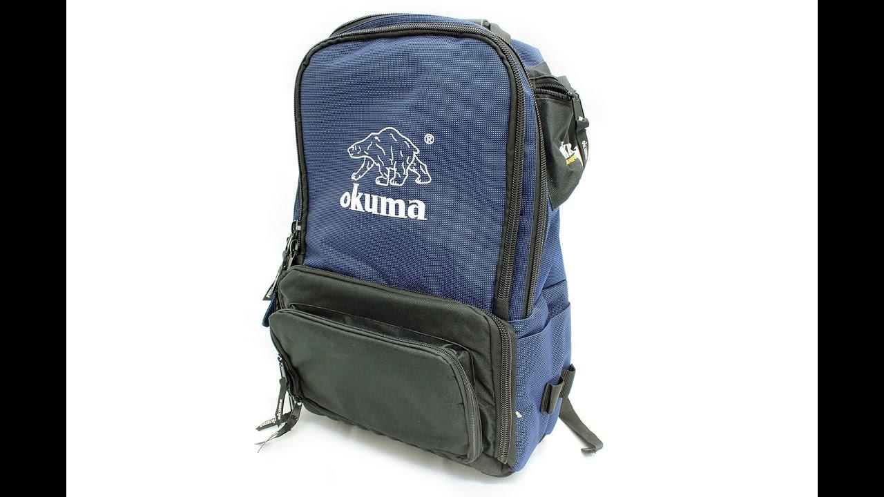 Okuma Tackle Backpack Management System
