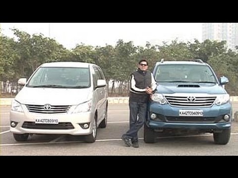Toyota's twin facelift: Revamped Fortuner and Innova
