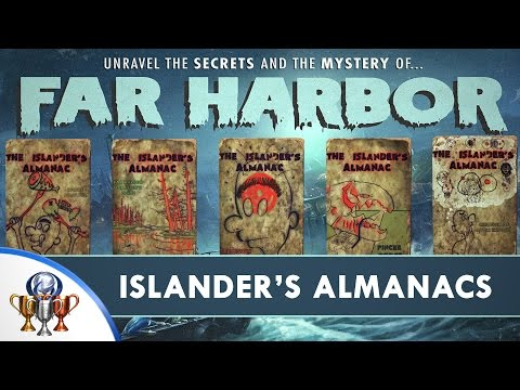 Fallout 4 Far Harbor DLC - Islander's Almanac Magazine Locations (All 5 Issues) Trophy Guide