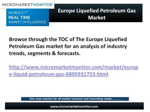 Europe Liquefied Petroleum Gas Market