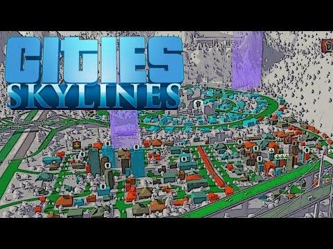 Ministadtteil am anderen Ufer :P - Cities Skylines Ep.15 - auf gamiano.de