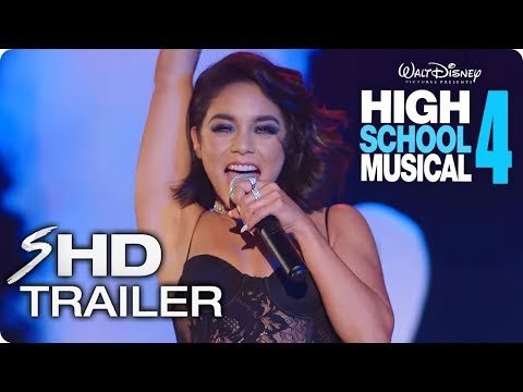 HIGH SCHOOL MUSICAL 4 Teaser Trailer Concept (2019) Zac Efron, Vanessa Hudgens Disney Musical Movie