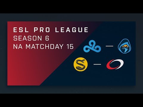 CS:GO: Cloud9 vs. Rogue | Splyce vs. compLexity - Day 15 - ESL Pro League Season 6 - NA 2nd Stream