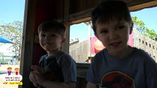 Dinosaur Escape Room! Giant T-Rex Dinosaurs Adventure & Dinosaur Patrol - Chase and Cole Adventures