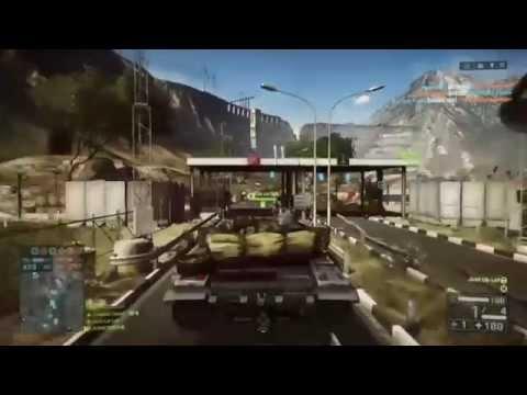 BF4 Tank vs Jet