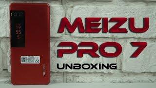 Распаковка и обзор Meizu Pro 7 4/64GB Black Unboxing