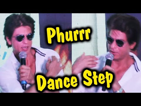 Shahrukh Khan On Phurrr Song Dance Step - DJ Diplo - Jab Harry Met Sejal
