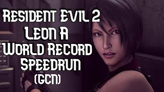 (World Record) Resident Evil 2 - Leon A - 46:27 RTA - 1:01:11 IGT (GameCube)