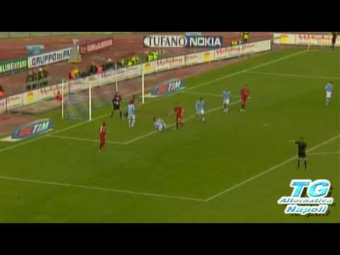 Napoli - Roma 0 - 3 2009 Ampia sintesi con commento di Auriemma Highlights HQ Tg Alternativa Napoli