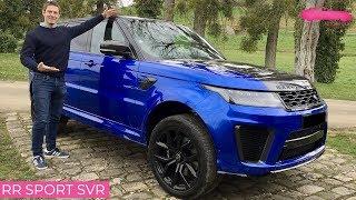 Essai Range Rover Sport SVR...575 chevaux! - Le Vendeur Automobiles
