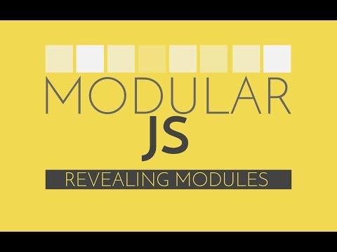 Modular Javascript #3 - Revealing Module Pattern Javascript Tutorial