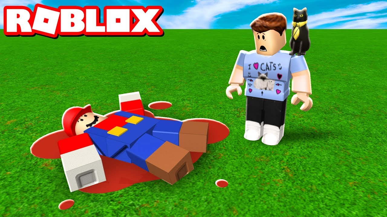 WHO KILLED MARIO IN ROBLOX?!