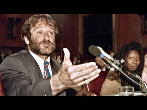 Robin Williams Speaks to Congress