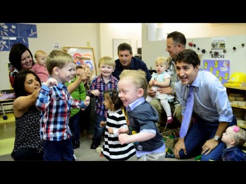 Justin Trudeau on the campaign trail  Day 7