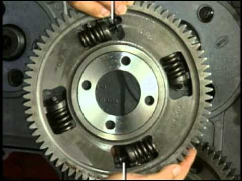 Cummins ISX Front Gear Train