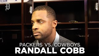 Randall Cobb speaks to the media after Cowboys lose to Green Bay Packers