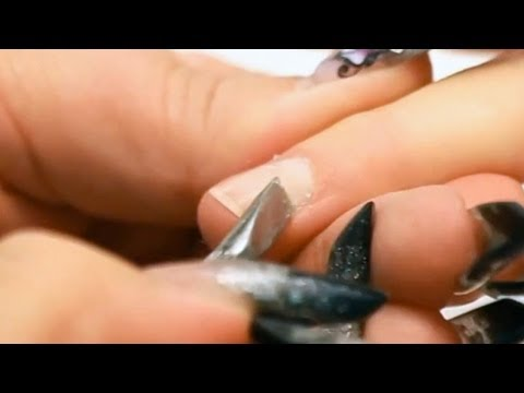 Prepare Nails for Acrylic and Gel Tutorial Video by Naio Nails