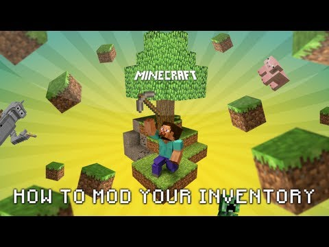 Minecraft (Xbox 360) Mods | *New* - How to Mod Your Minecraft Inventory