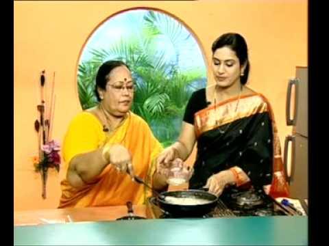 Andhra Recipes - Saggubiyyam Halwa - Ullikadala Pakoda - 02