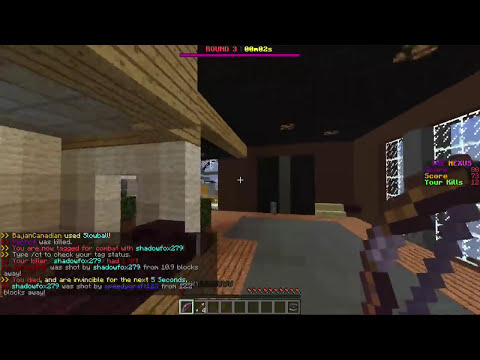 BRAND NEW Minecraft SWAT Minigame (Halo / Call of Duty)