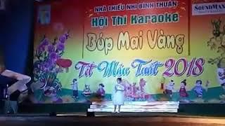Clip Dự Thi Giọng Hát Việt Nhí - Gặp Mẹ Trong Mơ - Trần Diệu Ái